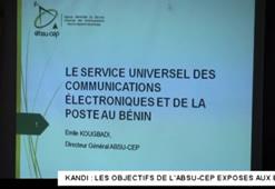 ATELIER DE SENSIBILISATION DES ELUS LOCAUX SUR LE SERVICE UNIVERSEL A KANDI