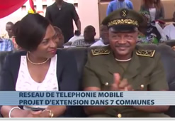SEPT COMMUNES DU BENIN BENEFICIENT DE L'EXTENSION DU RESEAU DE TELEPHONIE MOBILE
